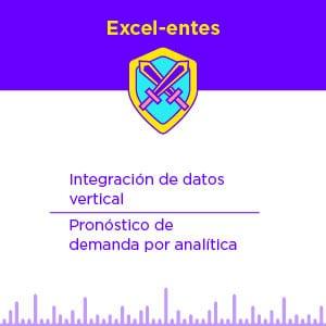 Perfil Excel-entes en el Pronóstico de la Cadena de Suministro