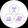 Icono Plataforma Datup Internet de las Cosas como Servicio